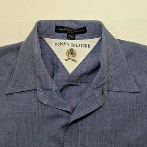 Tommy Hilfiger Crest Logo Dress Shirt